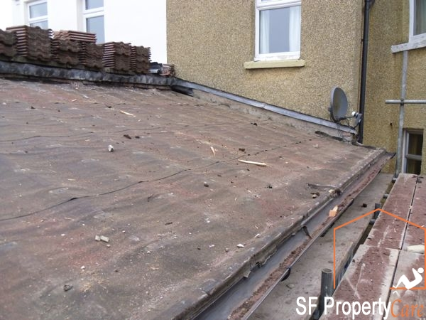 Fishpond Roof Renewal 1